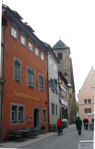 Erfurt lese gasthaus zum goldenen schwan for Haus finden