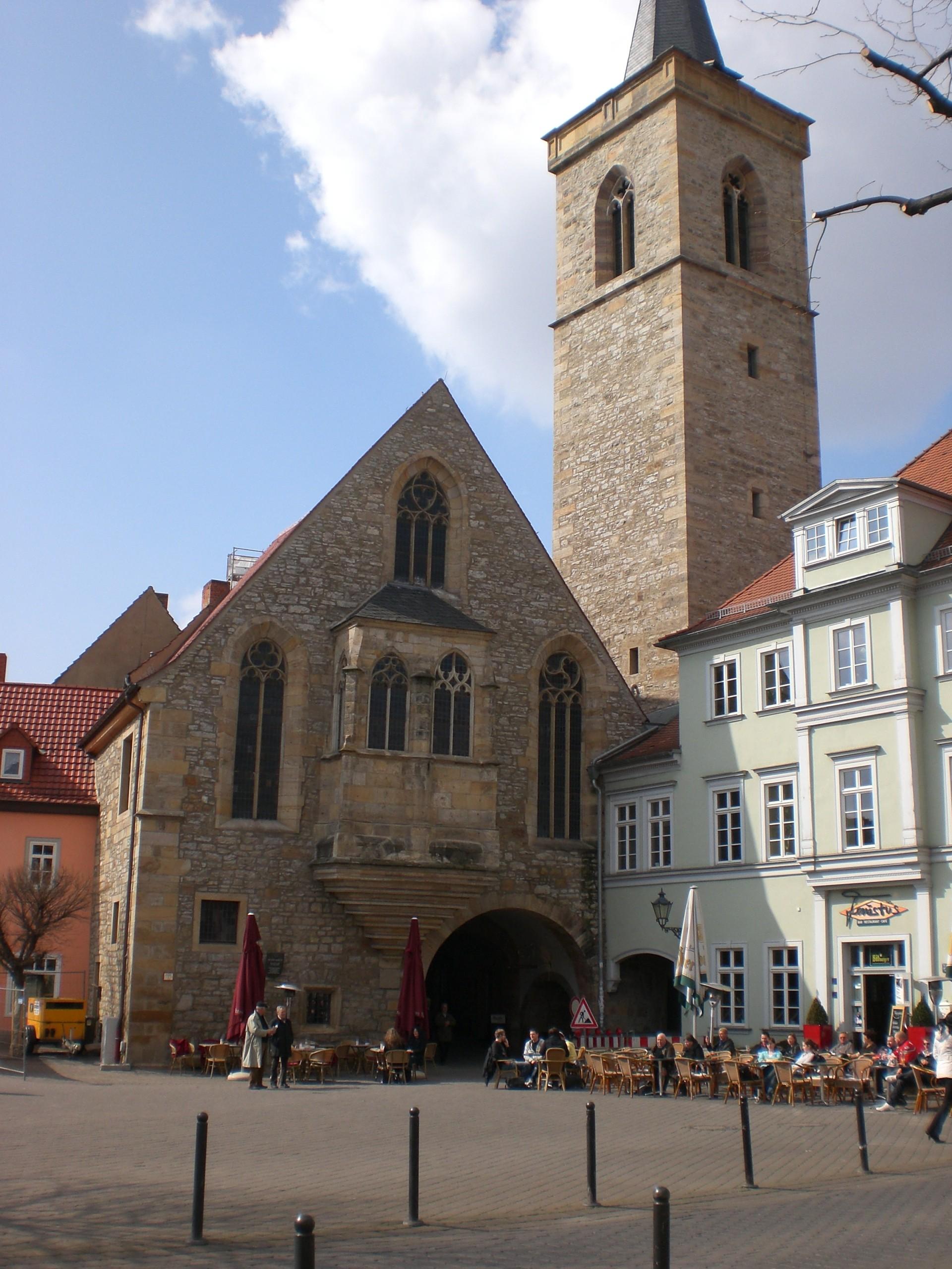 Enkelt leilighet Erfurt